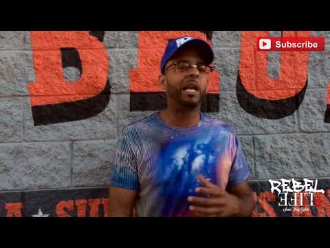 Krook Rock Interview with Rebel Life Tv - talks about Hip Hop Chess Club/Music Business