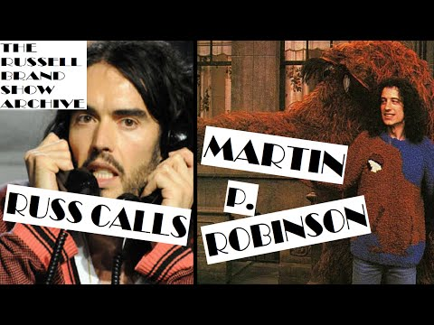 Martin P. Robinson (Mr. Snuffleupagus) Interview | The Russell Brand Show