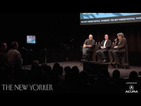 Jonathan Franzen and Clay Shirky speak with Henry Finder - The New Yorker Festival