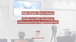 Dipl.-Psych. Nina Schulze  - Studie am NPZ-Hamburg: Achtsamkeit im Bogensport