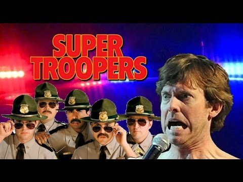 Rabbit talks Super Troopers 2 and hiding from the cops in real life!