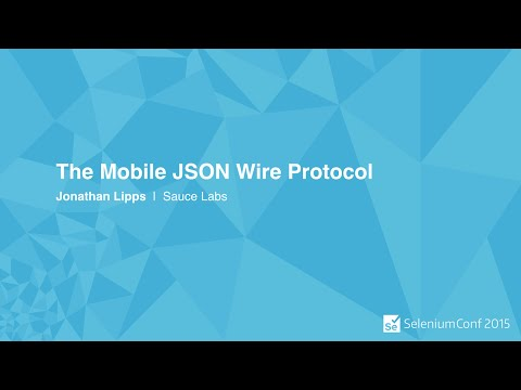 The Mobile JSON Wire Protocol