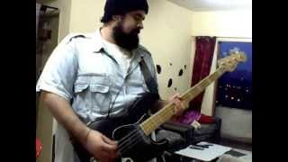 Motorhead - Aftershock - Queen Of The Damned Bass Cover (W. TABS)