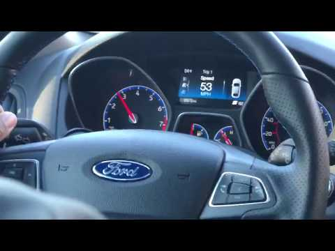 Focus RS - Syvecs Gear Blip