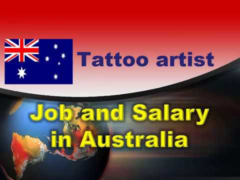 Tattoo Artist Job And Salary In Australia - Jobs And Wages In Australia