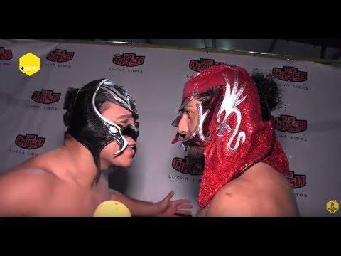 La Máscara y Rush imitan a Rey Mysterio y Penta Zero M, en The Crash