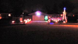 Christmas 2012 Frosty the Snowman LOR lights