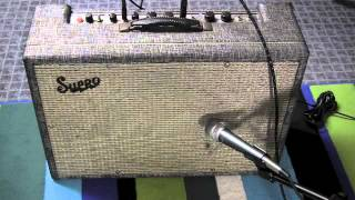 1960s Supro 1624T Guitar Amp Demo