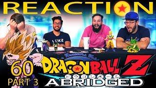 Download Video TFS Dragon Ball Z Abridged REACTION!! Episode 60 - Part 3 MP3 3GP MP4