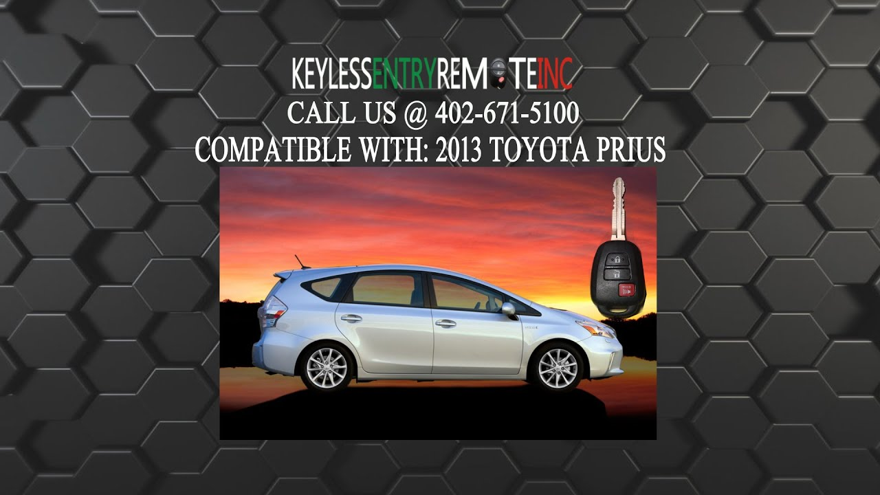 How To Replace Toyota Prius Key Fob Battery 2013