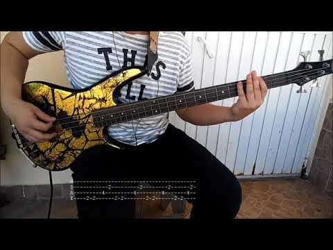 Siddhartha – Ser Parte [Bass Cover] Play With Tabs HD