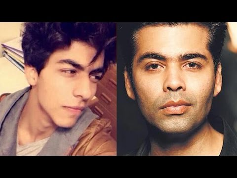 Karan Johar comments on SRK's son Aryan Khan Bollywood DEBUT | MUST WATCH VIDEO