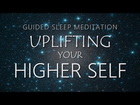 Guided Meditation for Sleep - Uplifting Your Higher Self Power Animal & Spirit Guide