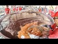 Huge italian street food festival of fried fish and seafood italy street food mp3