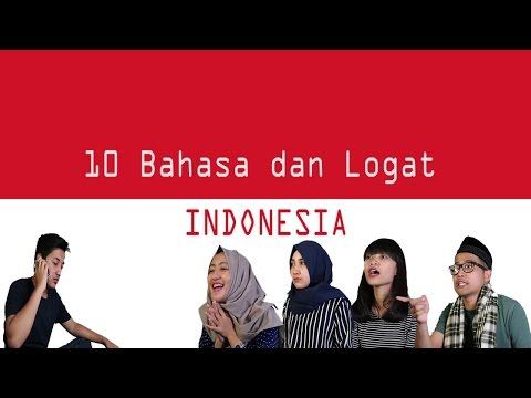 10 Macam Bahasa dan Logat Indonesia (INDONESIAN ACCENT)