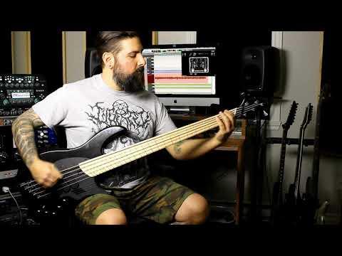 Ion Dissonance - Treading On Thin Ice (Bass Playthrough)