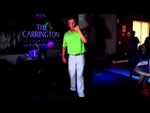 Gery Dempsey ROCKS!  KARAOKE contest at The Carrington At Four Corners Apartments