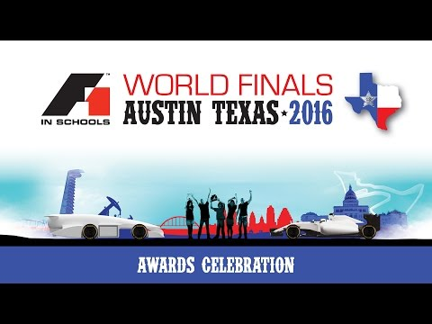F1 in Schools World Finals 2016 - Awards Celebration