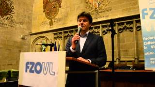 FZO-Vl  Nieuwjaarsreceptie 2015 / Minister Sven Gatz