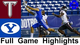 Troy vs #18 BYU Highlights | College Football Week 4 Highlights | 2020 College Football Highlights