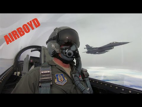 F-16 Aggressor Squadron POV • Red Flag 19-1