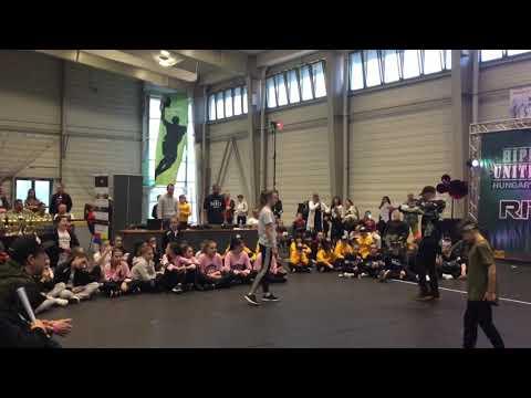Cosma Camelia Finala Solo Battle All Styles First Round-Hip Hop Unite Hungary Budapest