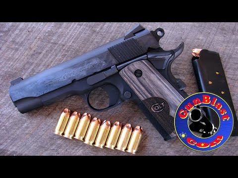 "Shooting the Colt ""Wiley Clapp"" CCO 45 ACP Lightweight Semi-Automatic Pistol- Gunblast.com"