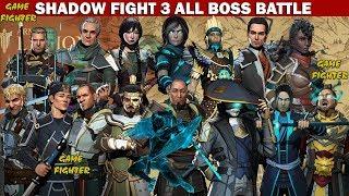 Shadow Fight 3 All BOSS Battles √