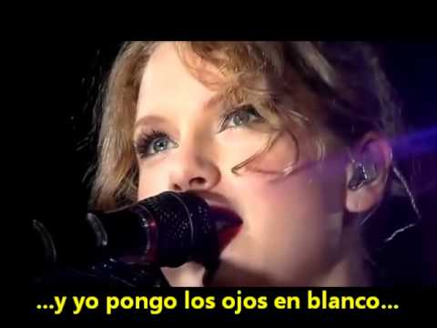 Taylor Swift - Last Kiss (en vivo - subtitulado en español)