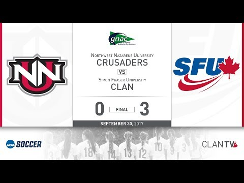 SFU Clan Women's Soccer vs. NNU - September 30, 2017
