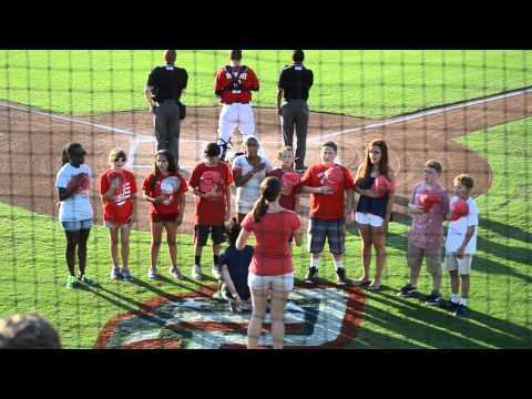 National Anthem, Potomac Nationals - Browne Academy