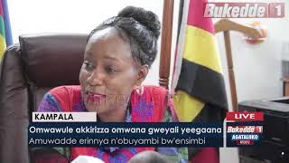 - Omwawule akkirizza omwana gwayali yeegaana.