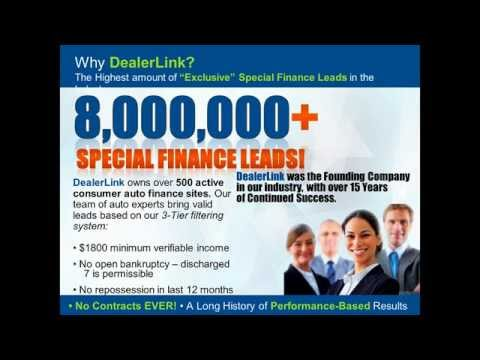 Exclusive Dealer Leads For Special Finance | Auto Sales Leads | Houston Texas