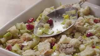 Stuffing Recipes - How To Make Cranberry, Sausage, And Apple Stuffing