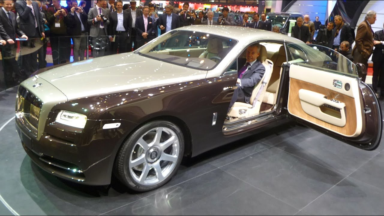 Rolls Royce Wraith First Presentation Youtube
