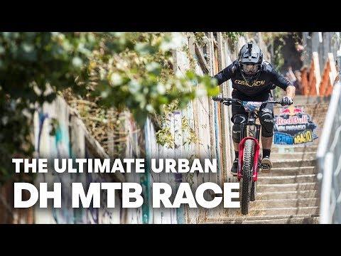 Pedro Ferreira's Urban Downhill POV   Red Bull Valparaíso Cerro Abajo 2019