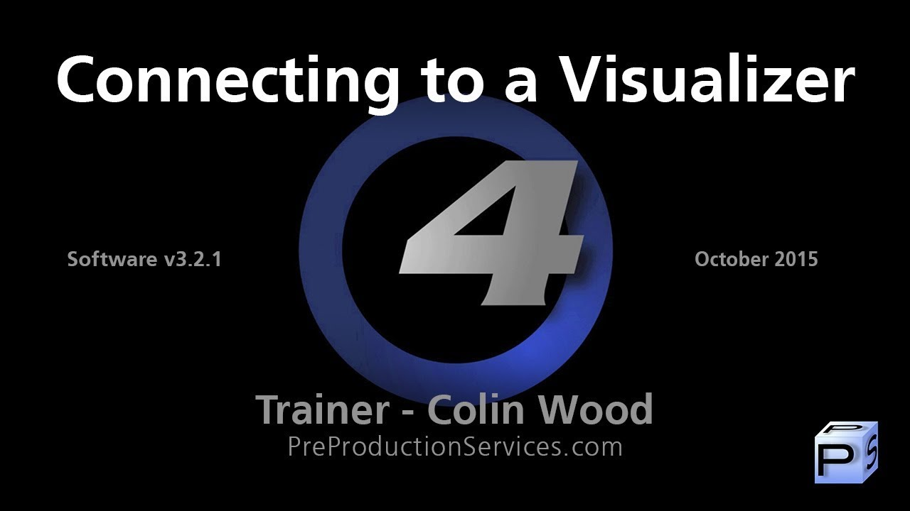 Hog 4 Tutorial 25: Connecting to a Visualizer - YouTube