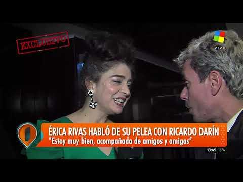 Érica Rivas habló de su pelea con Ricardo Darín
