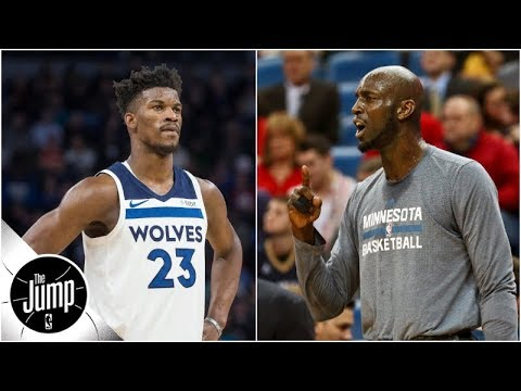 Kevin Garnett calls Jimmy Butler drama \'s---storm,\' says practice should stay private | The Jump
