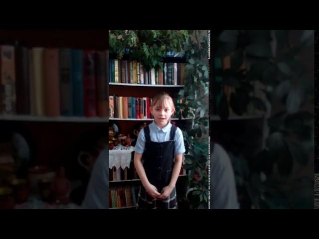 Изображение предпросмотра прочтения – АнгелинаВеремейчук читает произведение «Мы с вами разные» М.И.Цветаевой