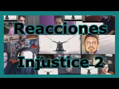 Reacciones: Injustice 2   Trailer 'The Lines are Redrawn'   Recopilación de videoreacciones