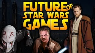 THE FUTURE OF STAR WARS GAMES - All Games Currently In Development!