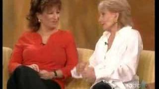 The View- Barbara Walters talks about new book