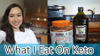What I Eat on a Ketogenic Diet | Part 1 | Fats and Macros