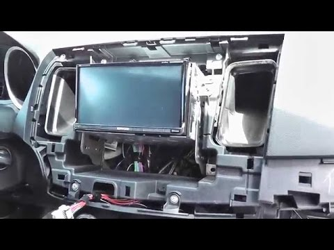 How To Remove And Install A DVD Double Din Nav Radio In A 2008-2017 Mitsubishi Lancer /GTS