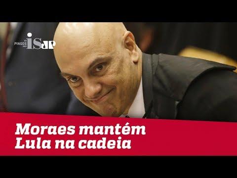 Debate: Moraes Mantém Lula Na Cadeia