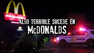 Acaba de pasar esto en McDonalds