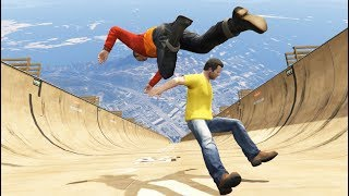 GTA 5 CRAZY Jumps/Falls Compilation #19 (GTA 5 Fails Funny Moments)