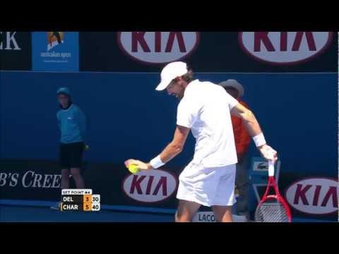 Juan Martin del Potro Looks For Sympathy - Australian Open 2013