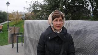 Женщина 15 месяцев живет в палатке у Останкинского пруда